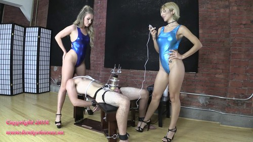 Alexa Rydell & Harley - Tens Limit Tested While Facesat And Milked