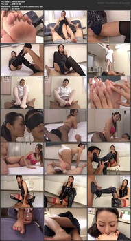 IWGB-047 The Temptation of Long Beautiful Legs Risa Murakami - Risa Murakami, Pantyhose, Nurse, Footjob, Foot Fetish, Featured Actress