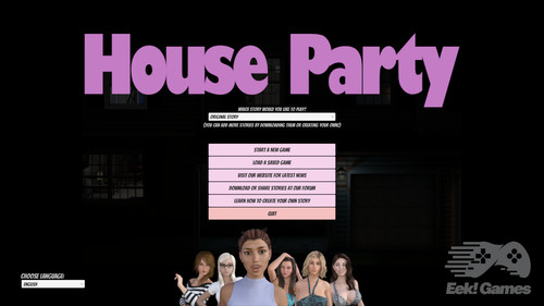 EEk - House Party - Version 0.10.3 + Mod + Steam Uncensor Patch