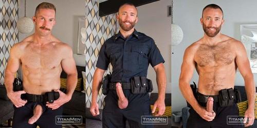 Bad Cop: Nick Prescott &Adam Herst -  (TitanMen.com-2014)