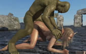 Sanda captured by the Goblin - 3DZen