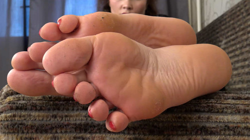 Theodora - sexy size 12 soles! Full HD