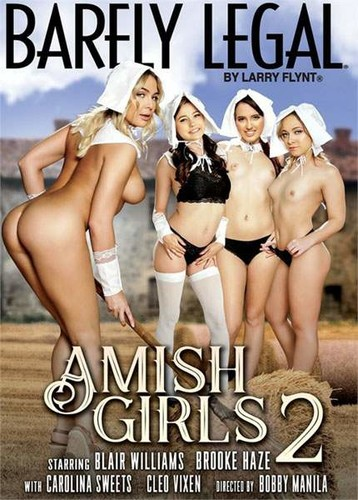 Barely Legal Amish Girls 2  - Blair Williams, Carolina Sweets, Brooke Haze, Cleo Vixen, Tommy Gunn, Tommy Pistol, Alec Knight (Hustler-2018)