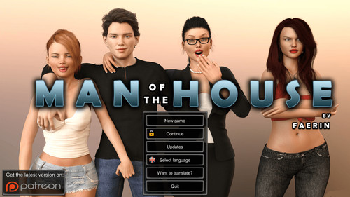 Faerin - Man of the House - Version 0.8.2 Extra + CG + Incest Patch + Walkthrough + Mod