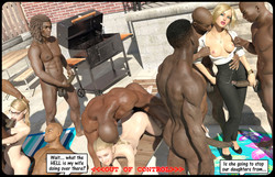 Darklord Daughters And Wife Cheating In Interracial Gangbang