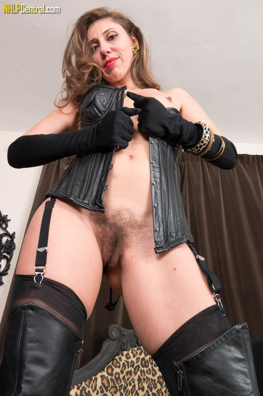 French Chloe - Leather and nylon time!