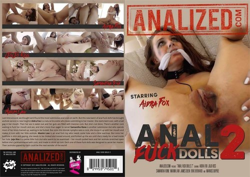Anal Fuck Dolls 2  - Aidra Fox, Samantha Rone, Jojo Kiss, Maxim Law, James Deen, Erik Everhard, Markus Dupree (Analized-2017)