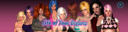 DirtyNovels - Life of Your Dreams - Version 0.5 + Update + Walkthrough + Bonus Game Anariel