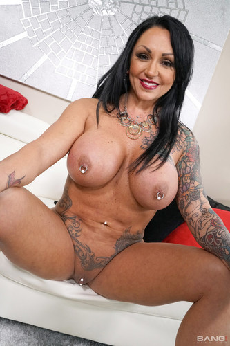 Bang! Real Milfs - Ashton Blake Is A Tattooed Bad Girl With A Matching Pierced Clit And Nipple