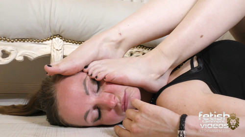 The slave girl tortured by Miss Katy van Strangers little feet - FULL HD WMV