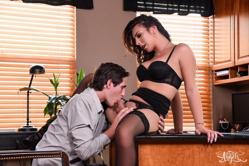 [TransAngels.com] Chanel Santini - Chanel Santini Hard at Work