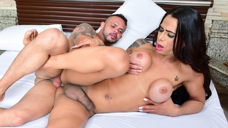 [ShemaleShy.com]  - Rosy Pinheiro - Intense anal and blowjob with lustful shemale Brazilian Rosy Pin...
