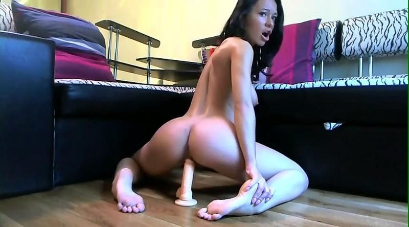 Sweet Blonde Teen Riding Her Dildo On Cam Porn Photo