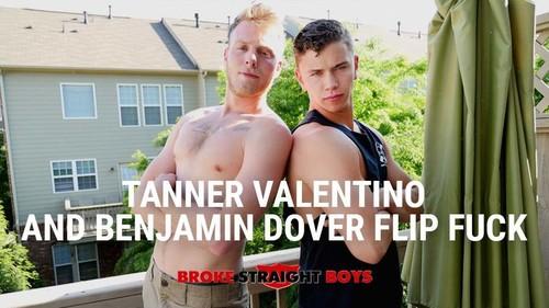 Tanner And Benjamin Dover Valentino Flip Fuck -  (BrokeStraightBoys.com-2016)