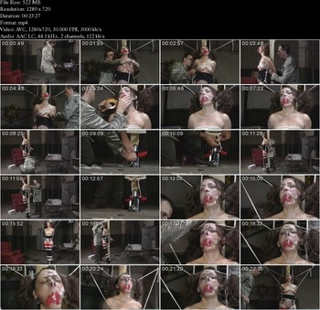 Torture_Bondage-Casino - Lilly Got Caught Stealing Towels and Soap - Part 2