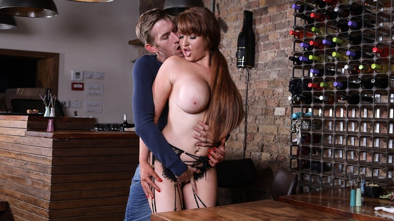 [BigTitsAtWork.com] Ashleigh Devere - Finally, Some Good Fucking Food