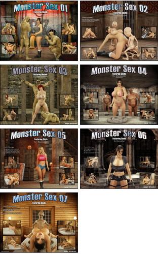Monster Sex 1-7 (BlackAdder) Cover