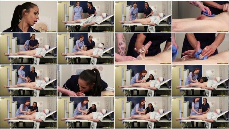 PureCFNM - Angelina Elise and Zara Du Rose - Bed Bath Miracle  18 08 10