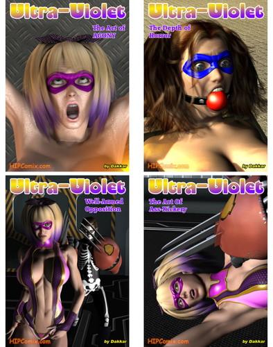 Ultra Violet 1-10 (hard BDSM) Cover