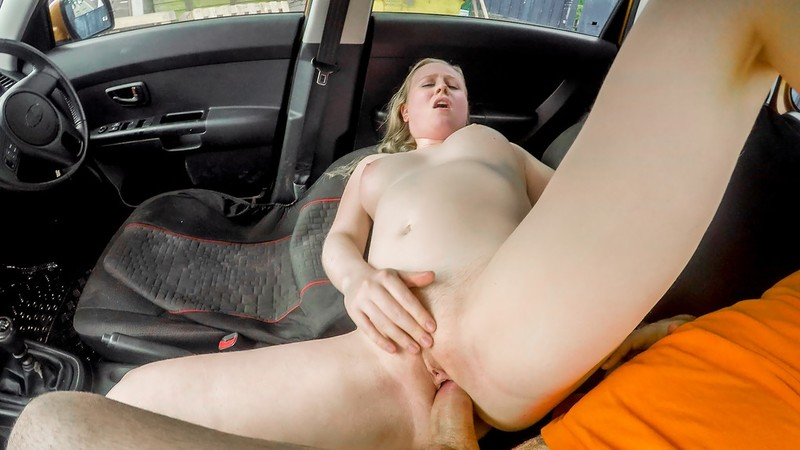 [FakeDrivingSchool.com] Satine Spark - Ex learners arse spanked red raw
