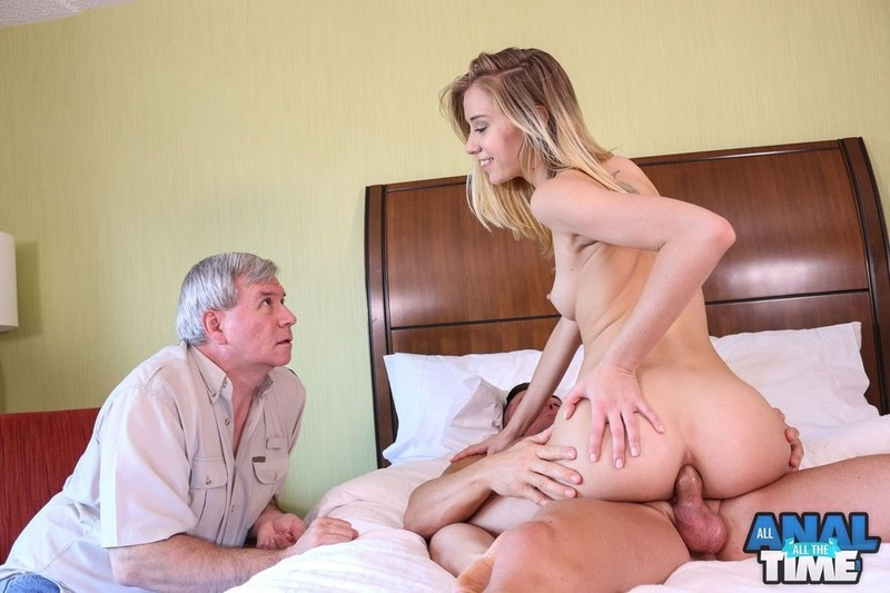 [AllAnalAllTheTime.com] Haley Reed - Daddy Gets His Wish!