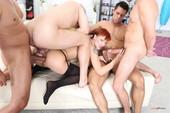 Kesie S - Double Anal Orgy
