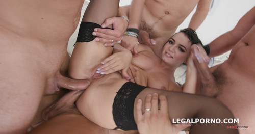 LegalPorno.com - DAP Destination Charlotte Cross first time Double Anal with multiple position, Balls Deep Anal, Great Gapes, Facial GIO740