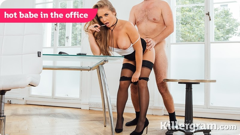 [Cum] Alessandra Jane - Hot Babe In The Office