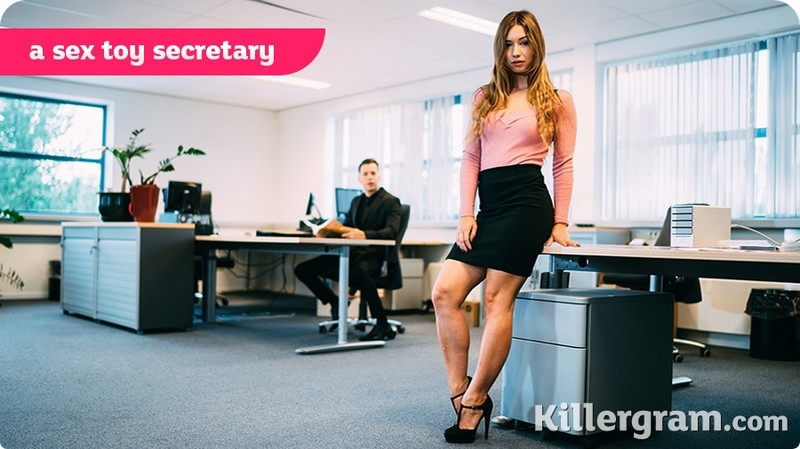 [Cum] Taylor Sands - A Sex Toy Secretary
