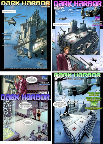 Dark Harbor 1-4 (by JAG27) Cover