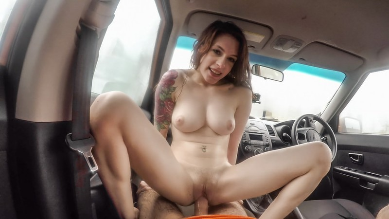 [FakeDrivingSchool.com] Anna De Ville - USA babe gets UK anal sex
