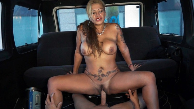 [FuckinVan.com] Alexa Blun - 45 y/o MILF burning down the van