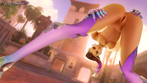 Sombra - Overwatch 3d adult Compilation