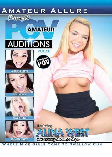 Amateur POV Auditions #20  - Alina West, Audrina Rossi, Alison Rey, Karli Stone, Jennifer White, Shauna Skye. (Amateur-2015)