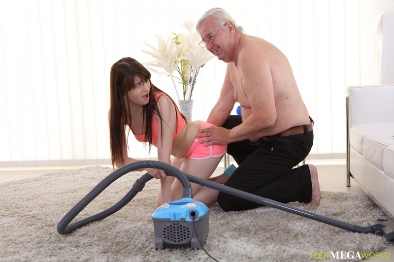 [Old-n-Young.com] Luna Rival - Old man makes sweetie kneel