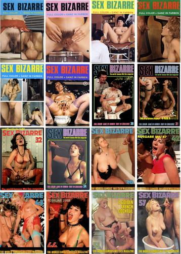 Sex Bizarre Collection (16 Magazines) Cover
