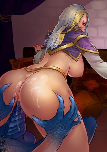 Lady Jaina Proudmoore - Porn artwork