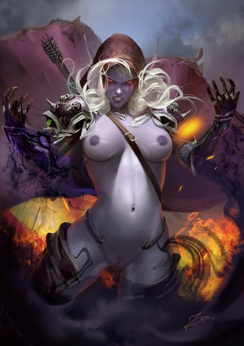 Dark Lady Sylvanas Windrunner