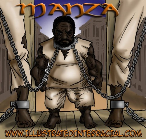 Illustratedinterracial - Manza