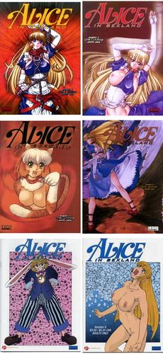 Alice in Sexland 1-8 (uncensored) Cover