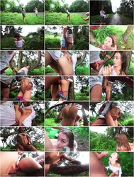 Mia Bandini - UNEXPECTED RAIN IN A PUBLIC PARK PUSHED US TO EXTREME ACROBATIC ASSFUCK [HD] - ManyVids