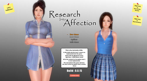 Boomatica - Research Into Affection - Version 0.0.15 (High Quality Version / Low Quality Version) + Compressed Version