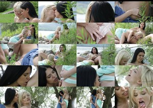 VivThomas Kira Queen & Zazie S Summer Fun Episode 3 Blossoming