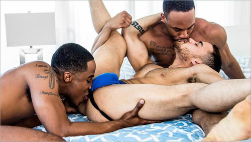 NoirMale – The Photoshoot (Trey Donovan, Beaux Banks & Trent King)