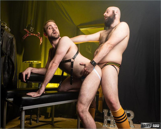 HairyAndRaw – Spit Shine (Dax Librastic & Harper Davis) Bareback