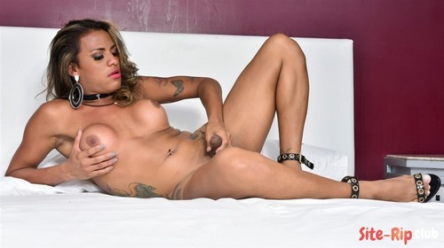 Alexia Rios Strokes And Cums - Alexia Rios - tgirls.xxx