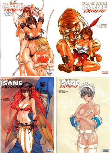 Sex Warrior Isane Extreme 01-08 Cover