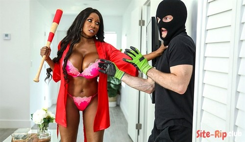 Diamond Jackson Protects Her Home - Diamond Jackson, Brick Danger - bangbros.com