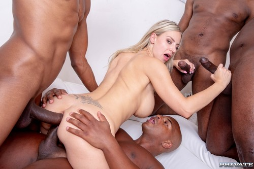 Private - Nathaly Cherie Loves Interracial Gangbangs