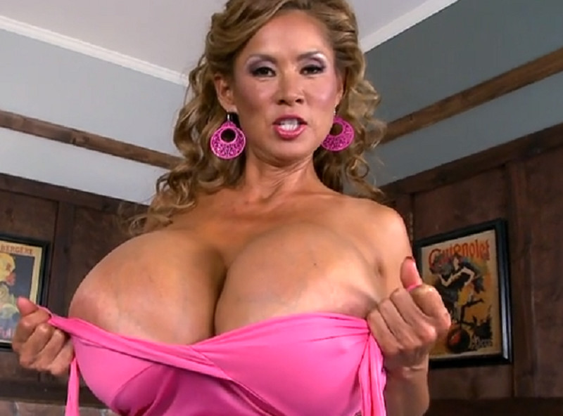 Mega Asian Boobs